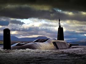 HMS Vengeance is one of four submarines in the controversial Trident missile defence programme