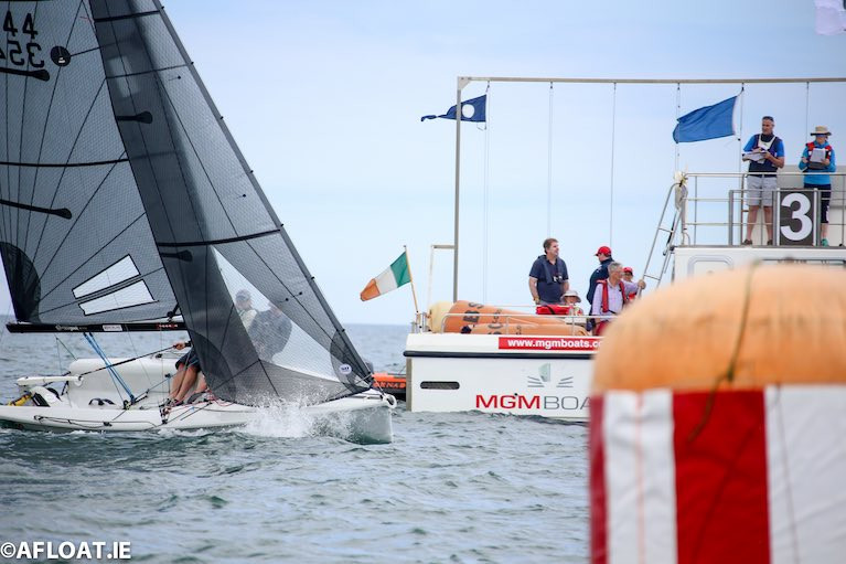 "Royal Irish Yacht Club's Home Together Series ""Winning Races in Dublin Bay"" - Top Tips from North Sails Ireland's Prof O'Connell"