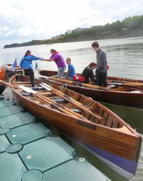 Queen of the Fleet – the East Wall racing skiff An Tulcha
