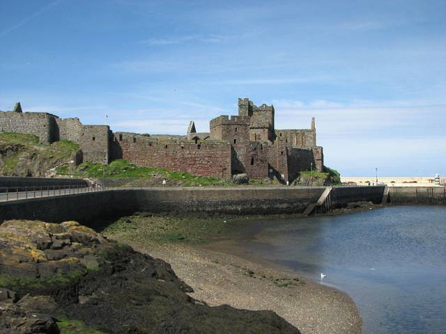 FERRY APPEALING: Peel Castle on St. Patrick's Isle off the Isle of Man