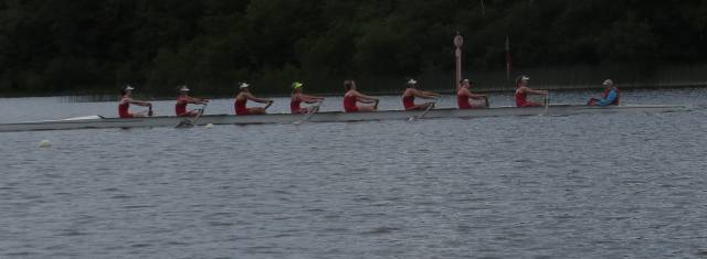 Bann win the junior 18 eight at Athlone