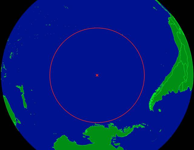 Point Nemo is the oceanic pole of inaccessibility - the furthest point from land in the world's oceans