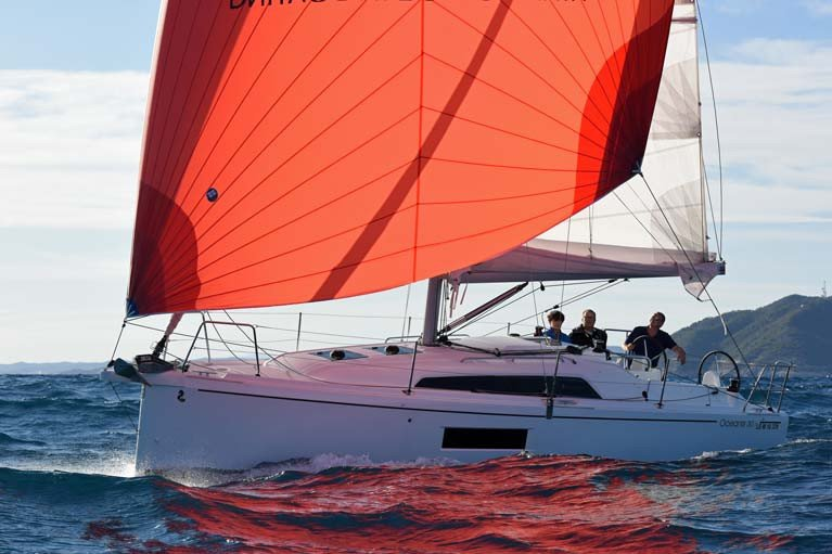 The Beneteau Oceanis 30.1 - European Yacht of the Year (Family Cruiser category)