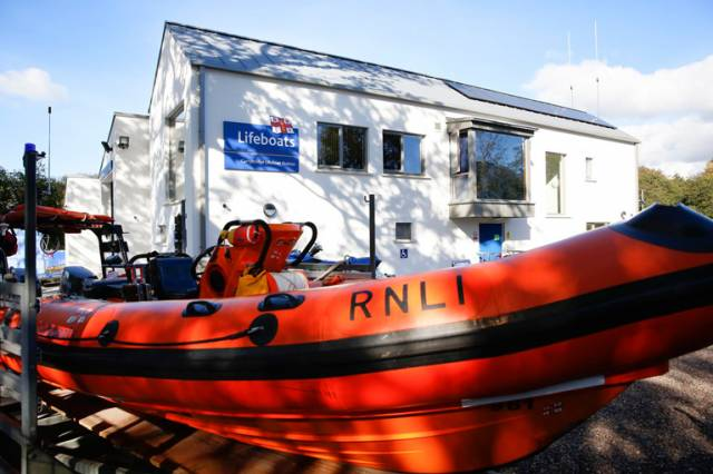 Carrybridge RNLI Respond to Gas Explosion on Vessel on Upper Lough Erne