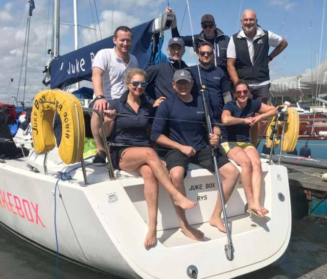 Mansfield is Tactician on Winning Boat at 2019 J109 UK Nationals