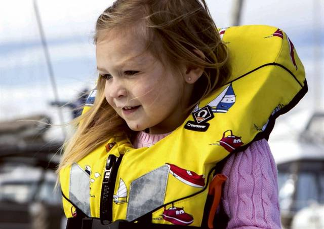 CH Marine's Guide To Buying A Lifejacket For Your Child