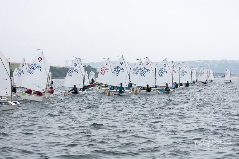 The 79-main boat fleet sailed again on day three of the championships on the Harbour's Curlane Bank in light winds. Scroll down for slideshow