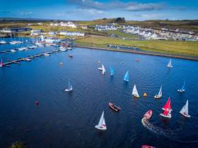 194 sailors and supporters descended on the Shannon Estuary sailing mecca at Kilrush in County Clare