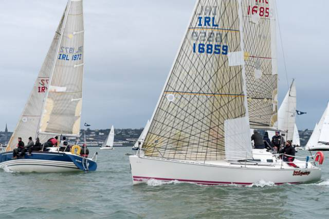 Cork Harbour cruiser racing this month. The possibility of an all-harbour-clubs league throughout the season would add to the revived interest in cruiser racing