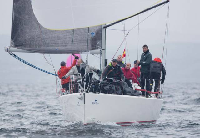 Consistent Sailing Gives Irish Crews Two Class Wins at the Scottish Series