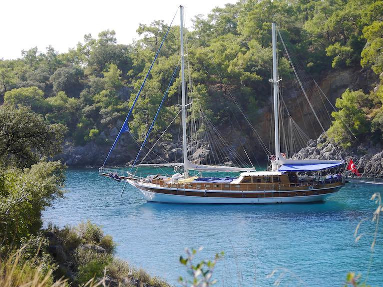 Get Married on a Private Crewed Charter Gulet in the Sun in Turkey