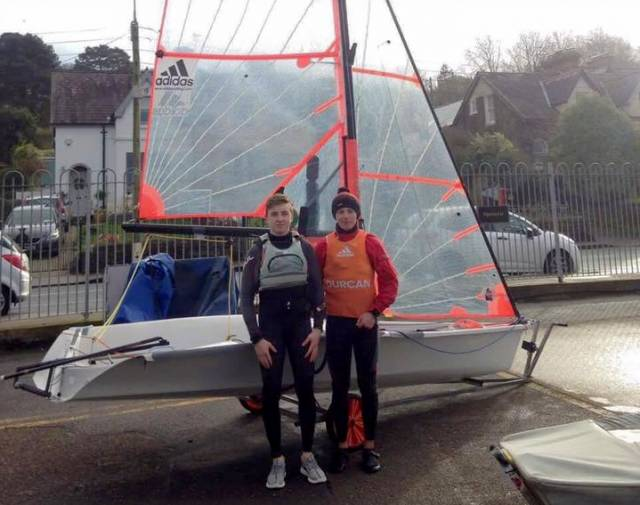 UK 29er National Championship winners Harry Durcan and Harry Whitaker are heading for Spain next month