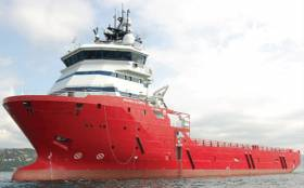 The Skandi Olympia is carrying out the visual survey for the next three weeks