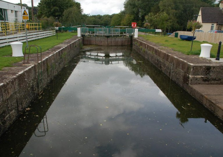 Movanagher Lock on the Lower Bann