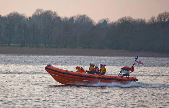 Lough Ree RNLI's inshore lifeboat The Eric Rowse