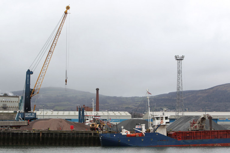 File image of the Port of Belfast