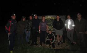 Sphere 17 Youth Group from Darndale enjoy night fishing as part of Inland Fisheries Ireland's Dublin Angling Initiative