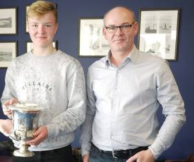 2016 Youth Champion Peter Boyle with crew Stephen Boyle
