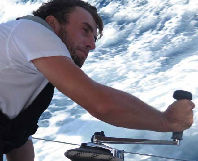 Irish solo sailor Gregor McGuckin