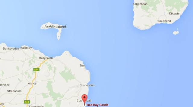 The search area between Northern Ireland and Scotland