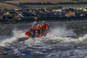 Skerries RNLI's inshore lifeboat