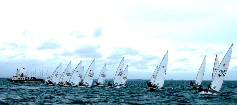 The Round Ireland's Eye Race gets a clean start on Saturday in the sheltered waters of Howth Sound for the finale of Howth YC's annual Laser Winter Frostbite series, a regular feature since 1974