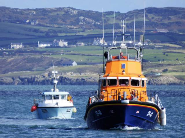 Irish Fishing Vessel Rescued By Holyhead Lifeboat