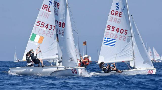 Ireland's (55437) Cliodhna Ni Shuilleabhain and Niamh Doran had two top ten results yesterday