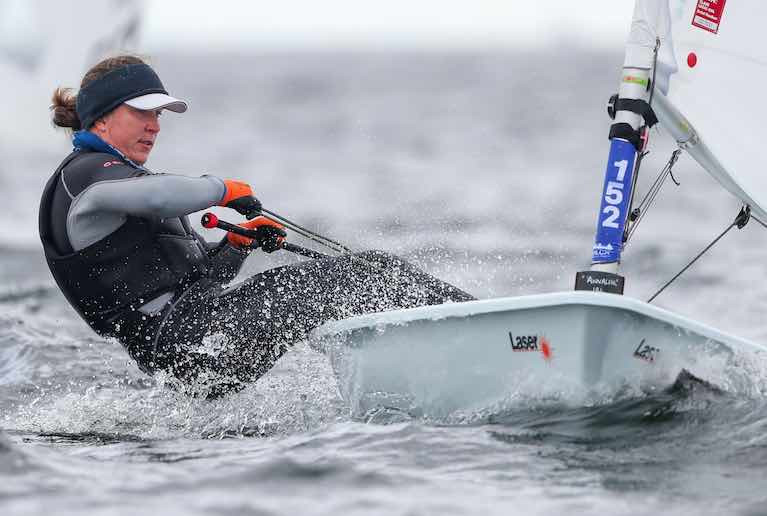 Ireland's Annalise Murphy lies in the top ten of the Radial Europeans in Poland