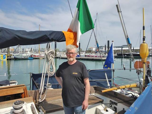 Son Of Circumnavigator Pat Lawless Aims For First Irish Non-Stop Voyage In 2022 Golden Globe Race