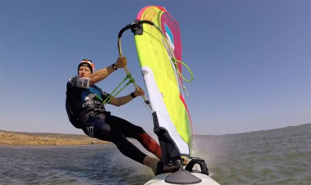 Watch Windsurfer Oisín Van Gelderen Set Irish Speed Sailing Record