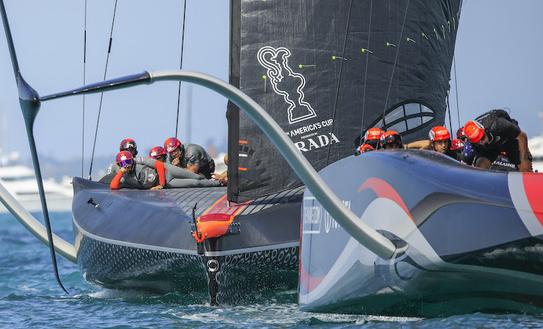 No Wind, No Race for America's Cup Boats This Christmas