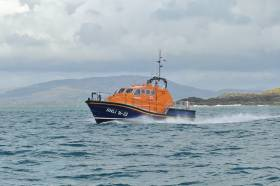 File image of Baltimore RNLI's all-weather lifeboat