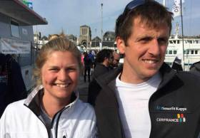 Joan Mulloy and Tom Dolan are set to race this year's Figaro in Irish waters with a stop in Kinsale