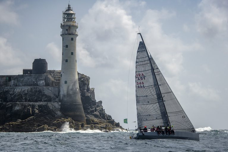 Past winners return to challenge for the 2021 Rolex Fastnet Race, including 2017 overall winner, Didier Gaudoux with his JND39 Lann Ael 2