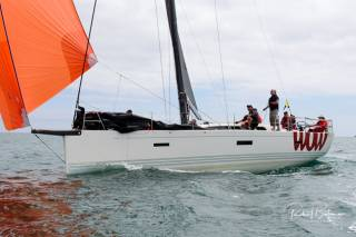 George Sisk's new XP40 Wow was the Sovereign's Cup winner in the Coastal class, having delivered a hat-trick of wins