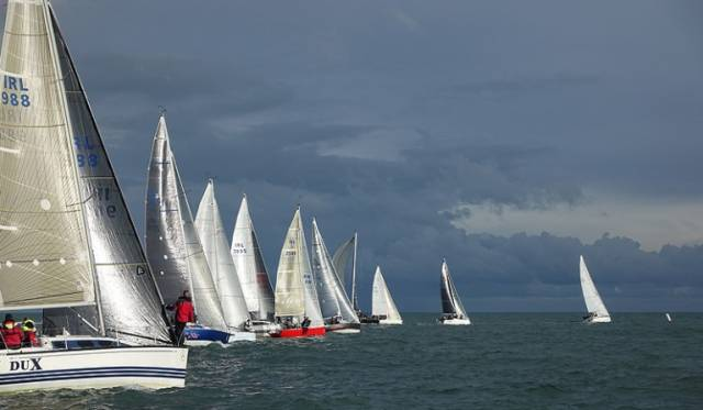 Racing at Howth Yacht Club's Autumn League