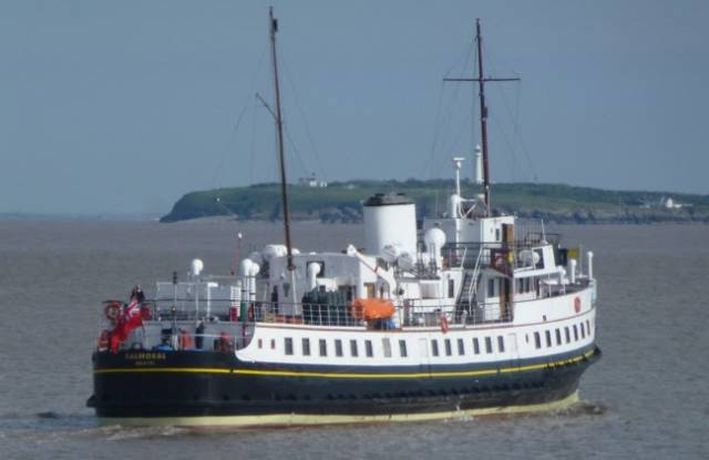 Balmoral featured as a British 'troopship' in Michael Portillo's 1916 documentary 'The Enemy Files'. The veteran excursion vessel has been awarded UK National Flagship of the Year 2016