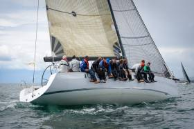 The Grand Soleil 44 Race 'Eluthera', Frank Whelan of Greystones SC, won with a very comfortable margin