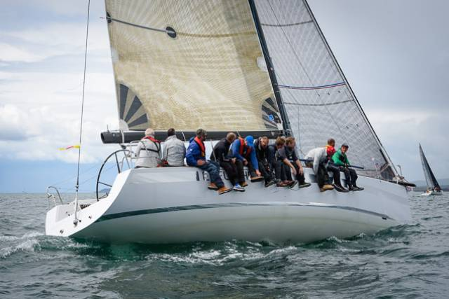 Greystones Yacht Wins DMYC 'Kish' Race Rerouted to North Burford
