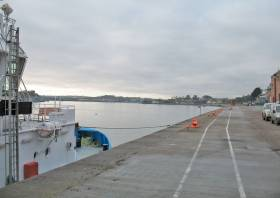 'No public right of way' exists over the deepwater quay in Cobh, says the Port of Cork Company