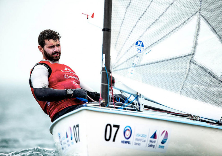 Oisin McClelland Stands Fourth Heading Into Finn Medal Race In Miami
