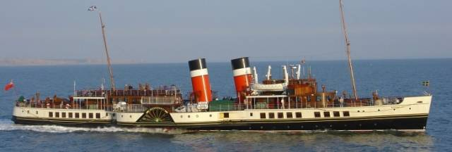 Today, the World's last sea-going paddle steamer, P.S. Waverley which has visited Irish ports, celebrates its 70th anniversary