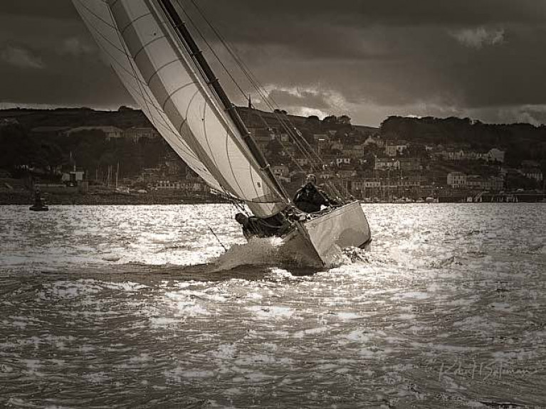 Sailing can help us to endure more in the way of overcoming discomfort and physical, as well as mental challenges