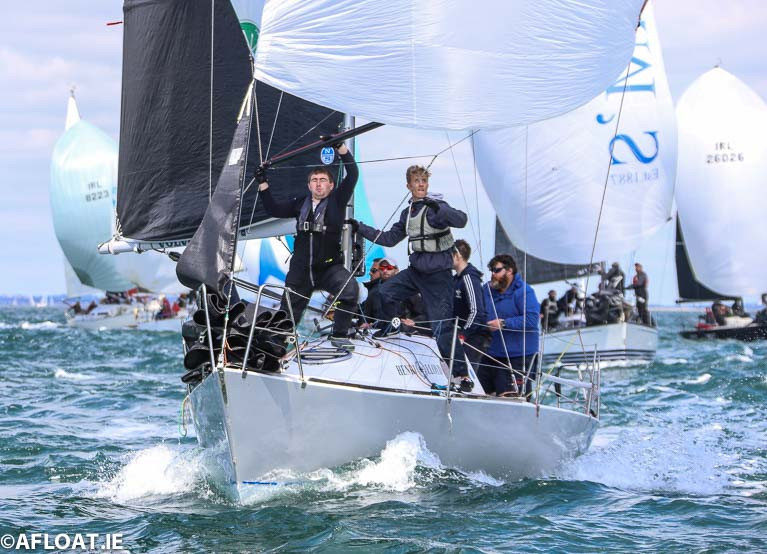 Half Ton skipper Ronan Downing from Cork Harbour is racing in the Hicks esailing league