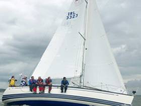 The X-332 Dexterity was the Class One IRC Overall Winner at WIORA on the Shannon Estuary