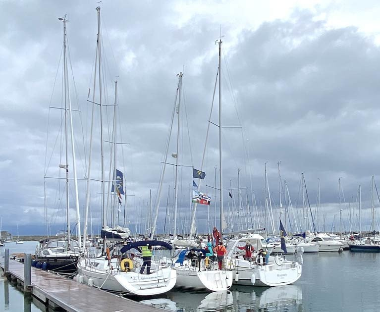 The CAI Round the Kish Cruise concluded at the Royal Irish Yacht Club in Dun Laoghaire