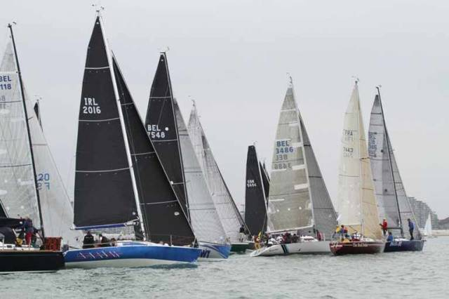 Howth Yacht Club's Checkmate XV Lying Second Overall at Half Ton Classics Cup