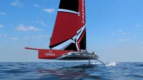 Emirates Team New Zealand say the yacht they intend to race at the next Americas Cup in 2021  is a flying monohull