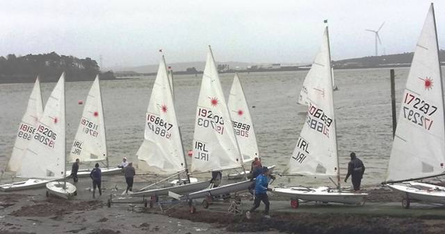 Cork Harbour Dinghy Sailors Go Cold Water Sailing
